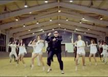 gangnam style horse dance