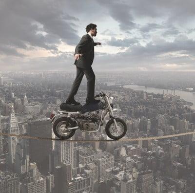 Risk tightrope