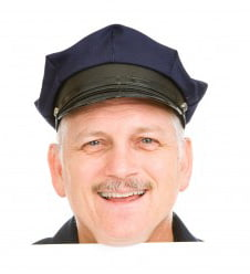 POlice officer smiling web
