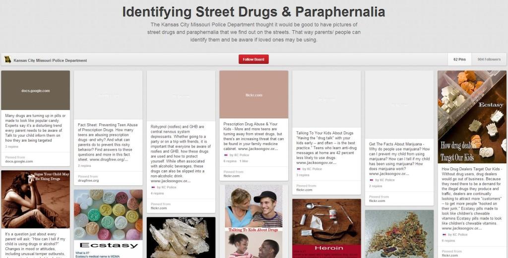 Pinterest drugs
