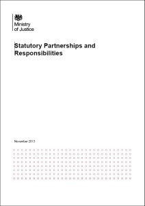 MoJ TR stat responsibilities