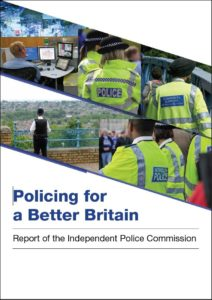 Policing better Britain cover
