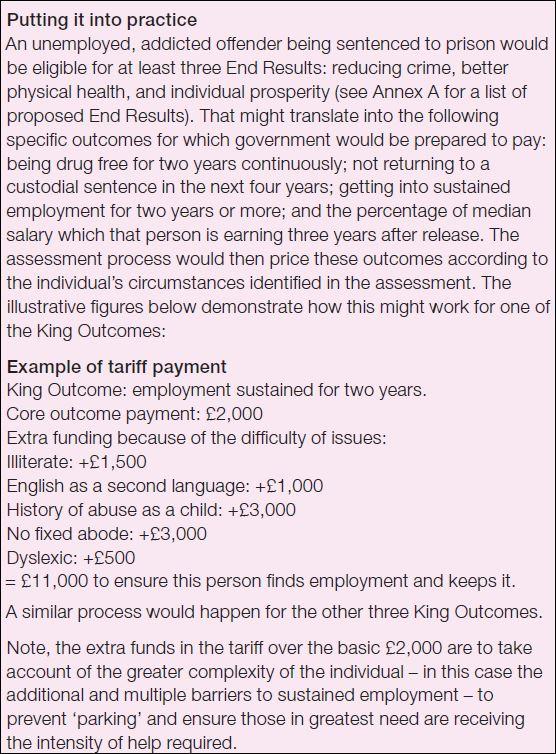 Reform case example