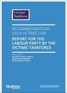 Victims taskforce report