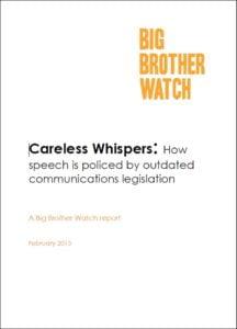 big borther watch report