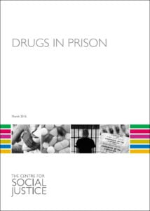 CSJ drugs in prison cover