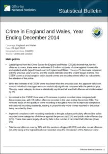 crime 2014 ONS front cover