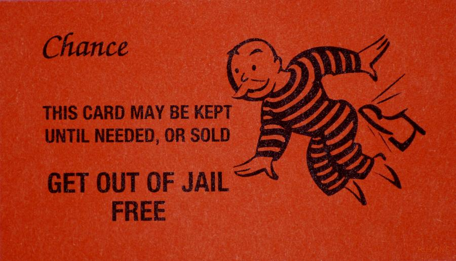 Get Out Of Jail Free Card Template - FREE DOWNLOAD
