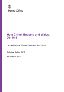 Hate crime front cover