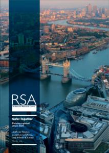 RSA safer together front cover