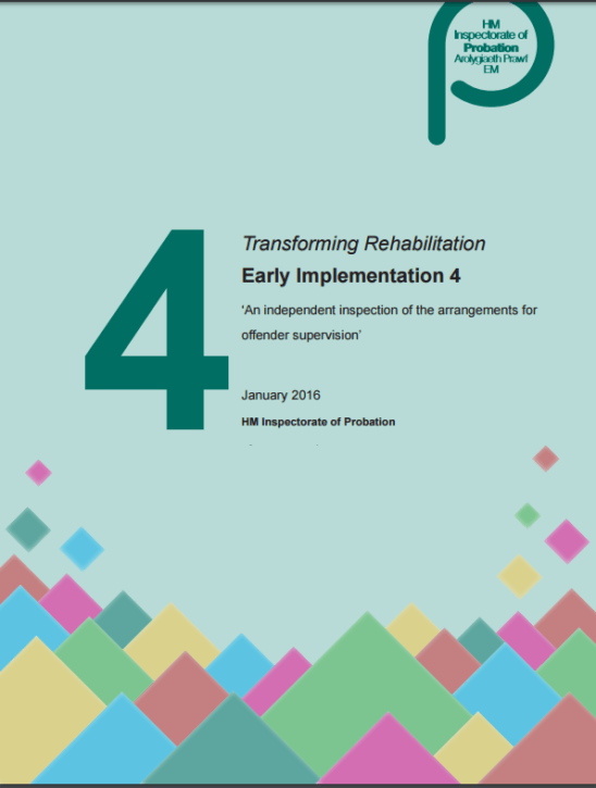 4th inspection of transforming rehabilitation