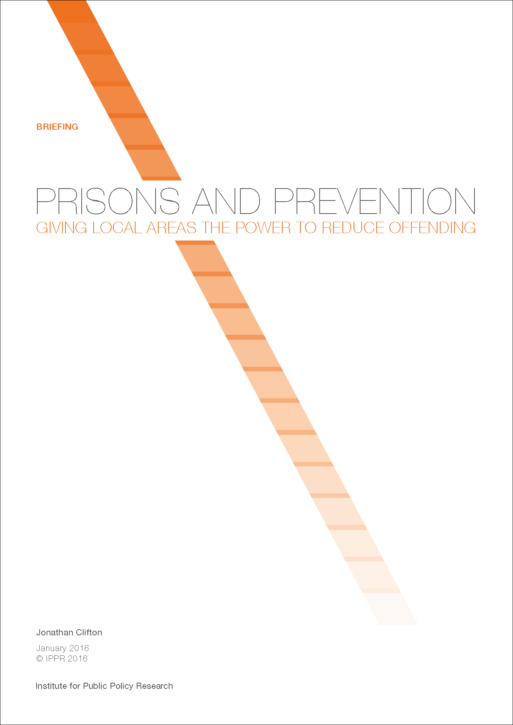 IPPR prisons prevention cover