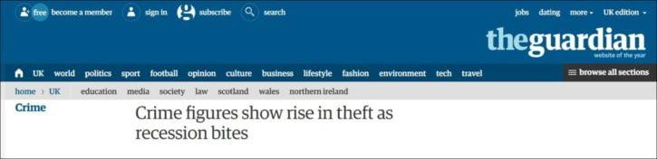 Guardian crime