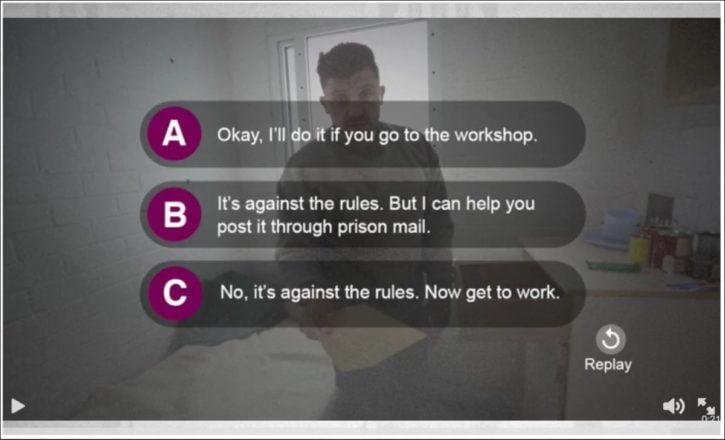 NOMS recruitment video