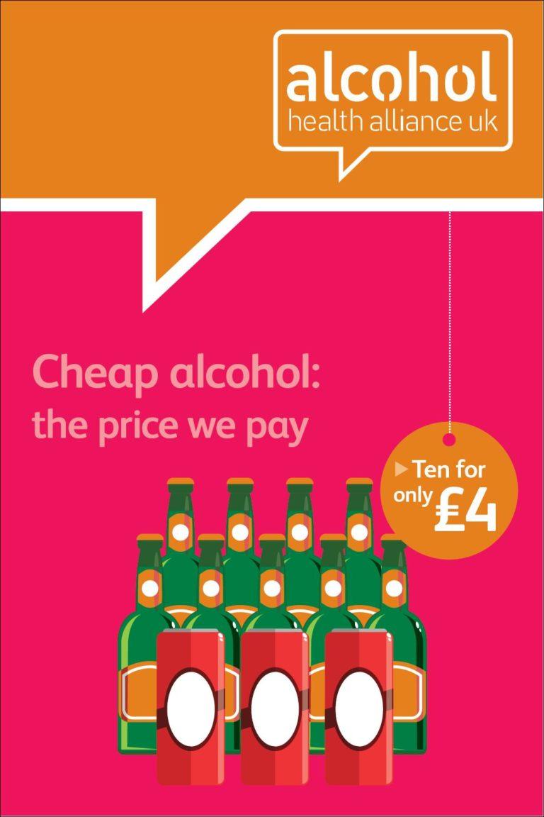 minimum pricing of alcohol report