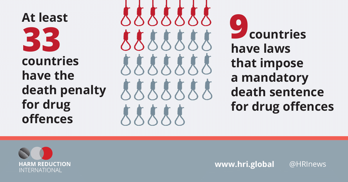 death penalty for drug trafficking Where else does trafficking earn a death sentence thirty-two countries, plus gaza, impose the death penalty for drug smuggling, according to harm reduction international (hri), a drug-focused ngo all but four (america, cuba, sudan and south sudan) are in asia or the middle east.