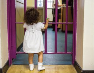 Child prison visitor