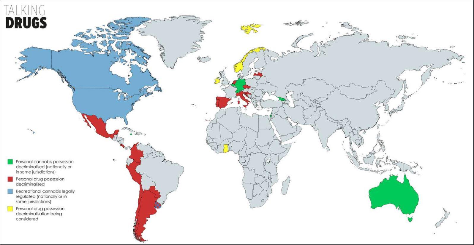 Drug decriminalisation around the world   Russell Webster on