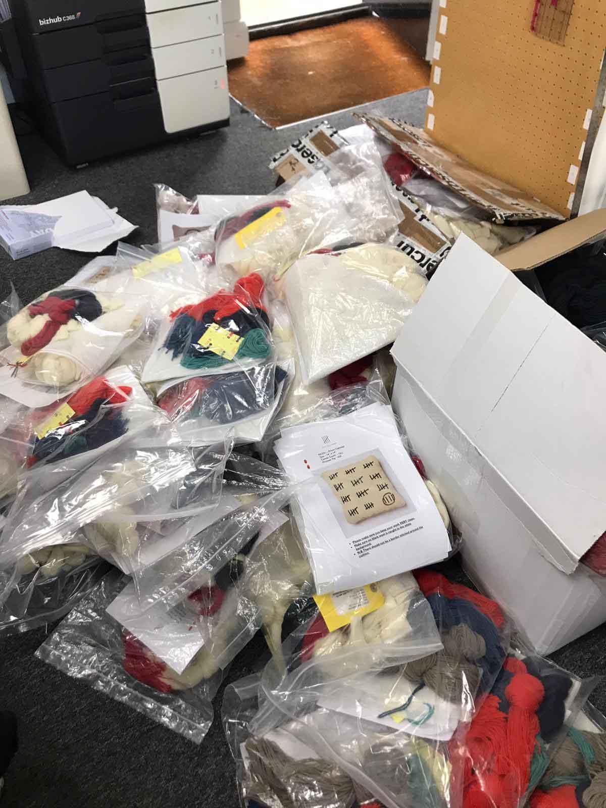 Fine Cell Work stitching kits