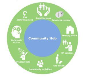 HMIP Community hub infographic