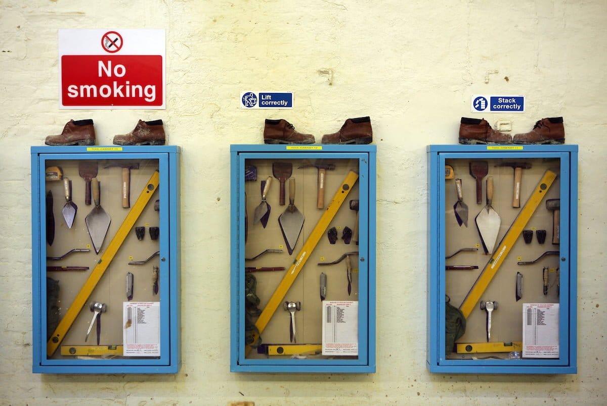 prison toolboxes HMP Wandsworth