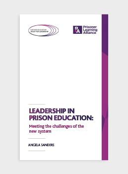 leadership in prison education