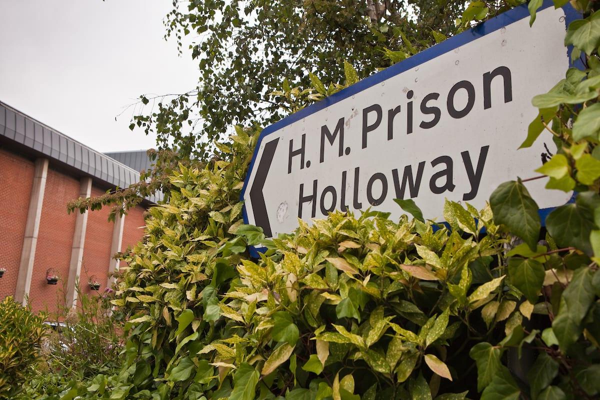Holloway Prison sign