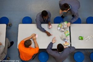 young offenders playing cards