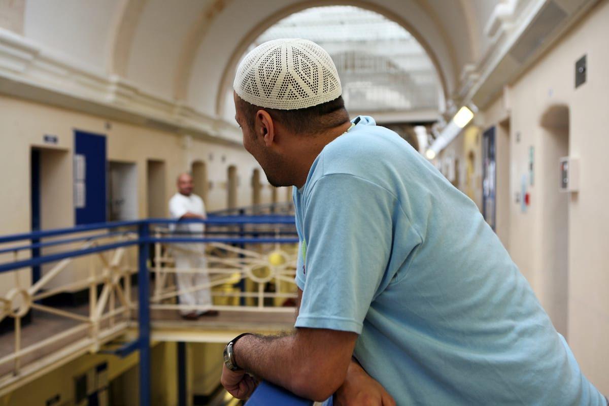 Muslim prisoner at HMP Wandsworth
