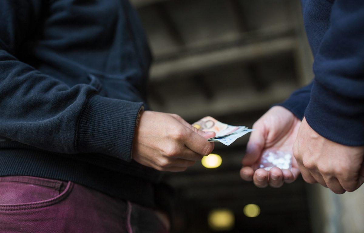street drug deal