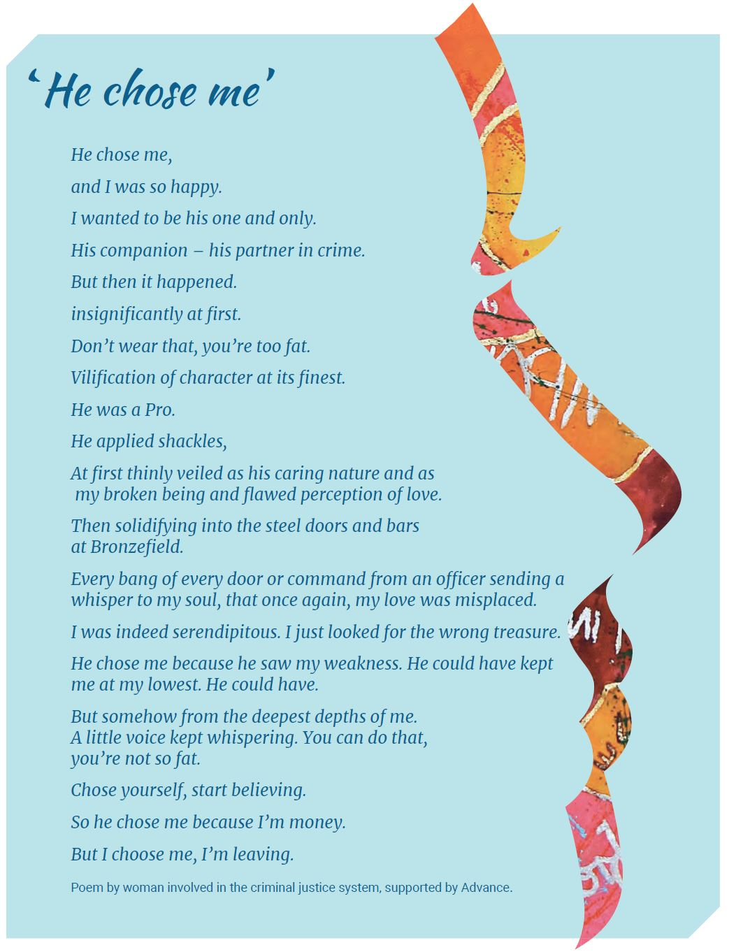 Advance poem