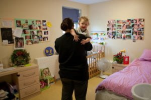 Mother and baby HMP Askham Grange