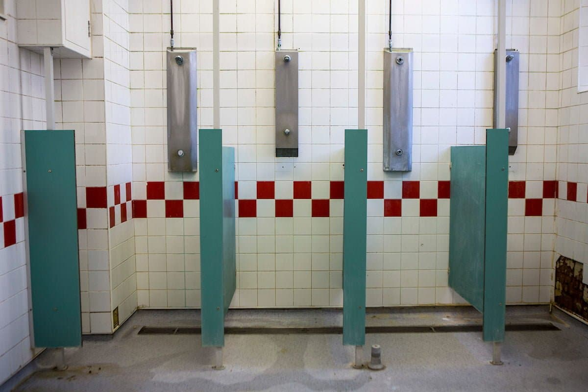prison showers