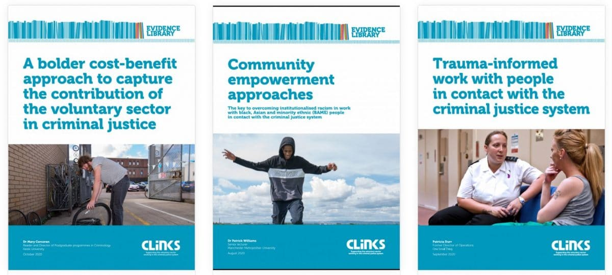 Clinks online evidence library