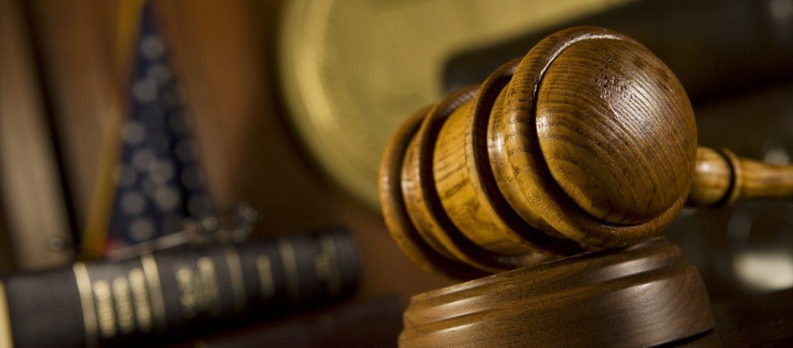 gavel court room