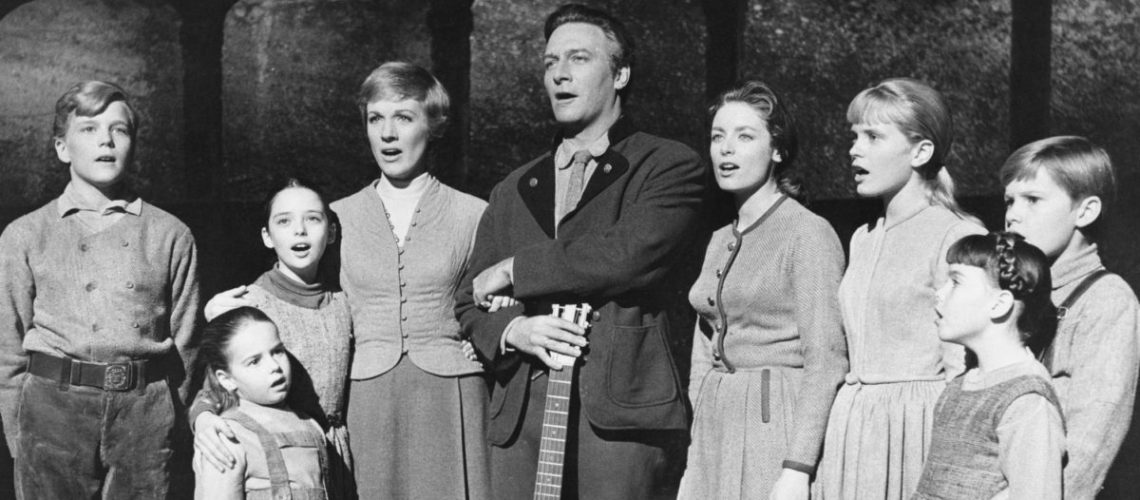 Cast from  Singing