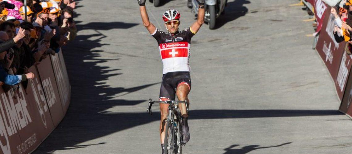 winning cyclist big